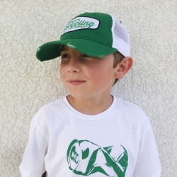 RYANS RECYCLING Green Mesh Trucker hat