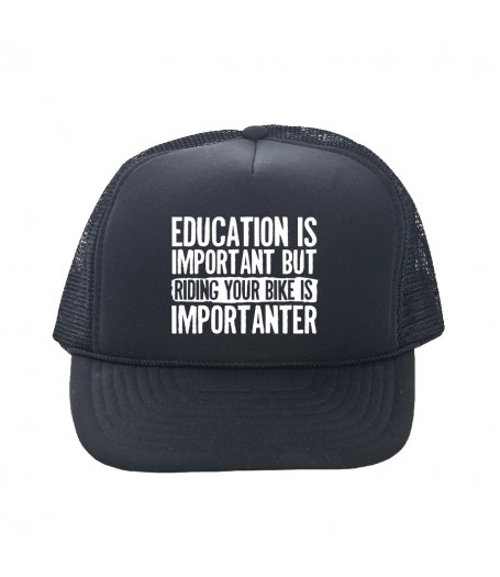HIGHER EDUCATION trucker hat
