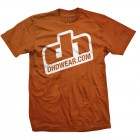 DHDwear Logo tee - orange