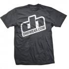 DHDwear Logo tee - grey
