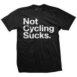 NOT CYCLING SUCKS - Black