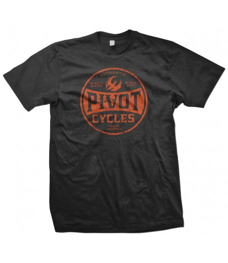 PIVOT CYCLES - Oil Can shirt