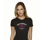 Red Monkey Sports RIDE MORE womens shirt