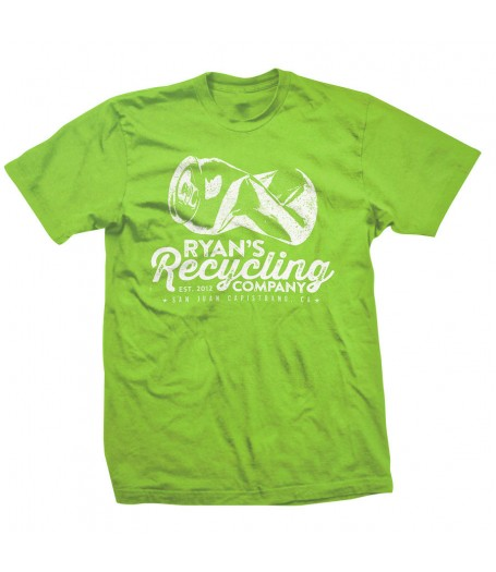 Ryans Recycling Youth shirt - Lime Green
