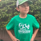 Ryans Recycling Youth shirt - green