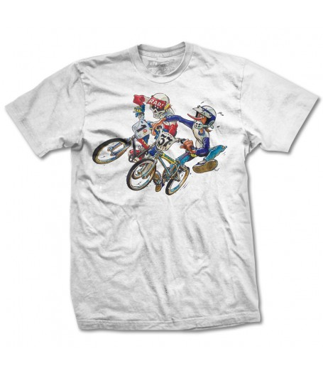 Radical Rick Holeshot white