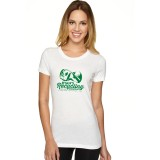 Ryans Recycling Ladies shirt - white