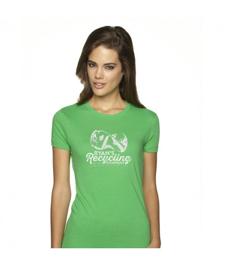 Ryans Recycling Ladies shirt - green