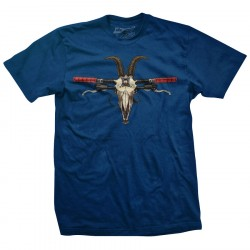 TRAIL GOAT Men's Blue T-Shirt