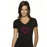 Chainheart Black T-Shirt