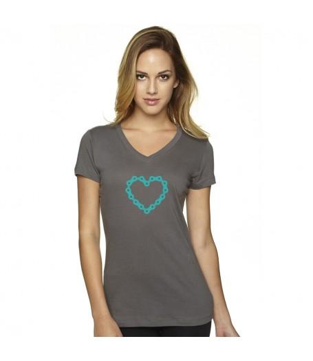 Chainheart Grey T-Shirt