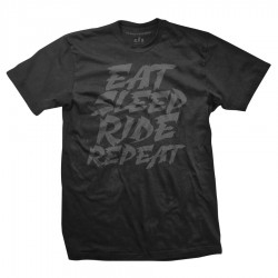 Eat Sleep Ride Repeat - black