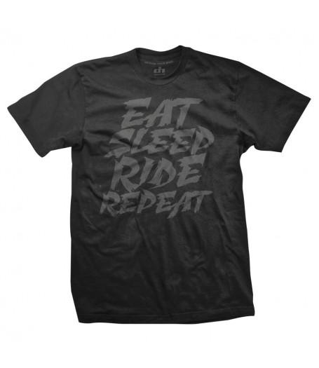 Eat Sleep Ride Repeat - black