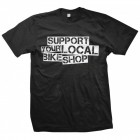 """Support"" Men's Black T-Shirt"